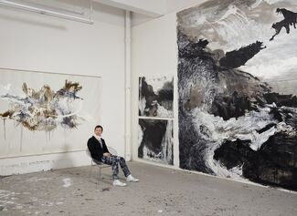 Shen Wei In Black, White and Gray, installation view