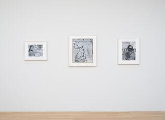 Richard Diebenkorn: Works on Paper 1949-1992, installation view