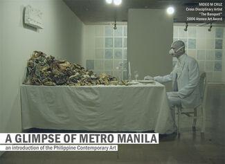 A Glimpse of Metro Manila, installation view