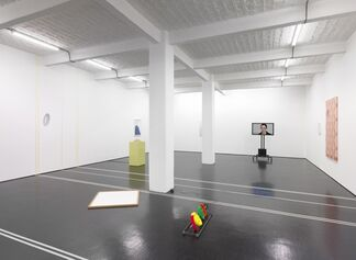 No Games Inside the Labyrinth organized by John Miller, installation view
