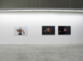 Whatever We had to Loose We Lost, and in a Moonless Sky We Marched, installation view