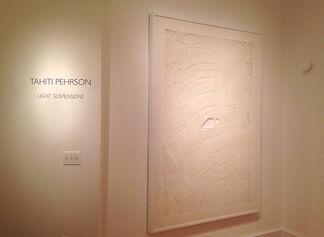 Tahiti Pehrson: Light Suspensions, installation view