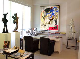Frank Stella: Works on Paper, installation view