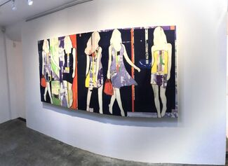 """""""Behind the Silhouette"""" Featuring Jane Maxwell, installation view"""