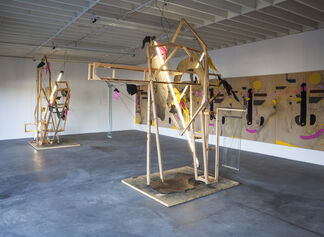 "David Hendren ""Echo's Drift"", installation view"