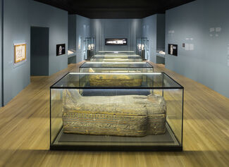 Egyptian Mummies: Exploring Ancient Lives, installation view