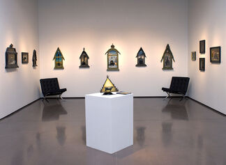 Of Metal & Fire: New Patina Paintings by Nathan Bennett, installation view