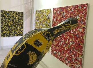 Axis Gallery at 1:54 Contemporary African Art Fair London 2015, installation view