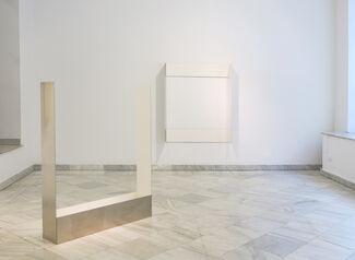 """Rodríguez Silva: """"Horizontal in White"""", installation view"""