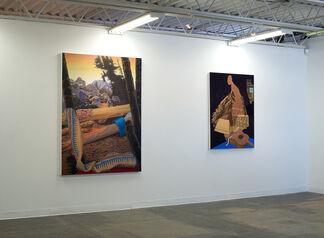 Hunker Hawser, installation view