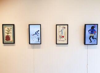 Cristina de Miguel: Extraños en la noche intercambiando miradas, installation view