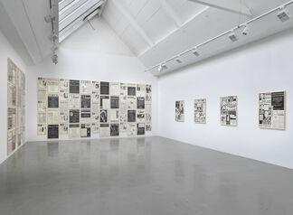 Fernando Bryce, installation view