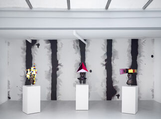 Charles Avery - What's so great about Happiness? - The people and things from Onomatopoeia, installation view