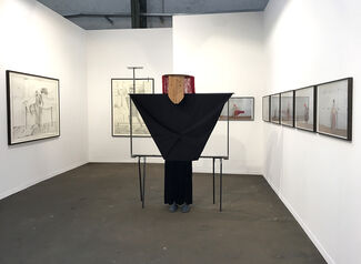Zink at Art Brussels 2017, installation view
