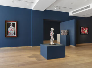Jean Dubuffet: A Festival of the Mind, installation view