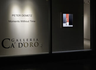PETER DEMETZ: Moments without Time, installation view