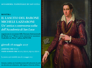 A Bequest of Baron Michele Lazzaroni – A Questionable choice of the Academy of San Luca in the early twentieth century, installation view