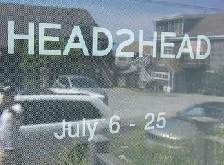 HEAD2HEAD, installation view