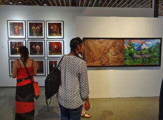 Axis Gallery at 1:54 Contemporary African Art Fair New York 2015, installation view