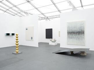 Tina Kim Gallery at Frieze New York 2015, installation view