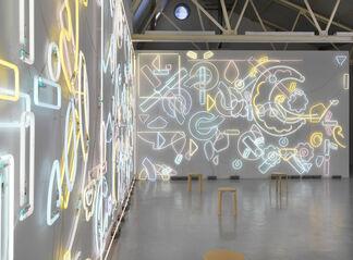 Pae White, Genau or Never, installation view