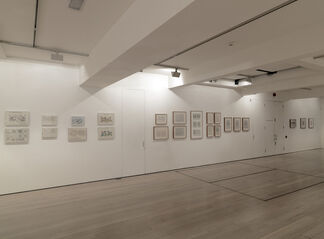 Kenneth and Mary Martin - Drawings, installation view