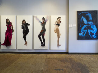 The Model and Her Artist: New Work from Phil Rabovsky and Lane Sell, installation view