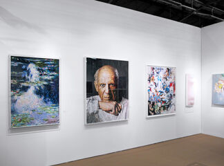 BLANK SPACE at Art New York 2018, installation view