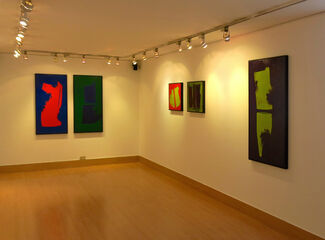 From Figure to Color, Recent Works by Carolina Convers, installation view