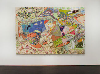 Racers: Larry Poons and Frank Stella, installation view