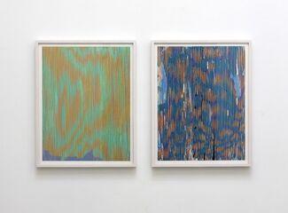 Julie Oppermann: Waking Lines, installation view