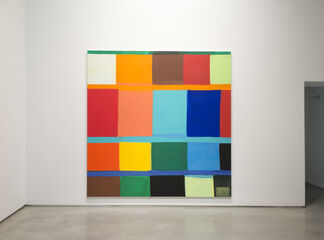 """Stanley Whitney - """"Other Colors I Forget"""", installation view"""
