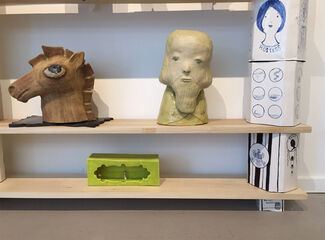SAYA MORIYASU - Parlor, installation view
