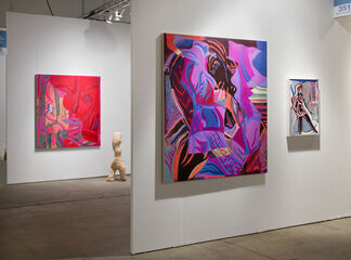 Night Gallery at EXPO CHICAGO 2017, installation view