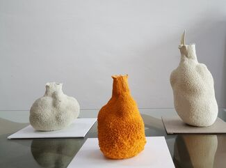 Nature's Crafts – Else Porcelain Vases Collection by Michal Fargo, installation view