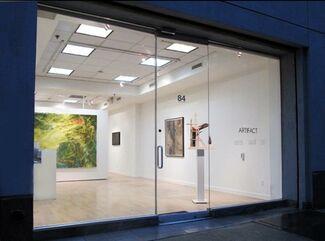 Artifact NYC Alfredo Sanchez Solo Show, installation view