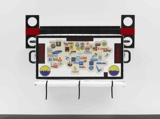 Ashley Bickerton: Ornamental Hysteria, installation view
