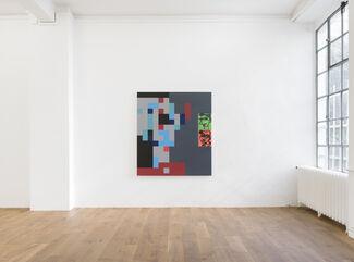 """Spezifikation #26: Reinhard Voigt """"Unsere Welt - der andere Blick"""", installation view"""