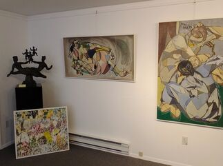 Arthur Pinajian: The Nudes, installation view