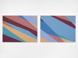 Odili Donald Odita: Third Sun, installation view