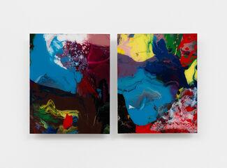 Etel Adnan | Gerhard Richter, installation view