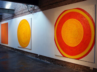 Radial Series, installation view