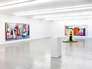Thomas Scheibitz | The River and its Source, installation view