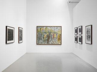 Leon Kossoff: London Landscapes, installation view