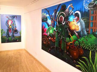 Amazing Africa - Abdias Ngateu & Bodo Fils BBM, installation view