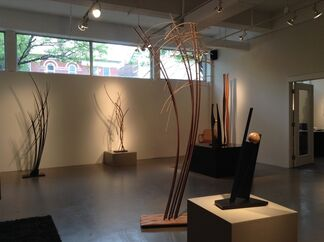 Wooden Grace, installation view