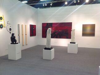 Durban Segnini Gallery at Art Miami New York 2015, installation view
