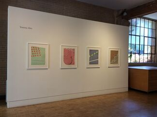Tomma Abts: Four New Etchings, installation view