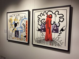 Keith Haring - Still Drawing A Line, installation view