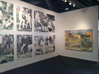 Galerie Kleindienst at VOLTA NY 2015, installation view